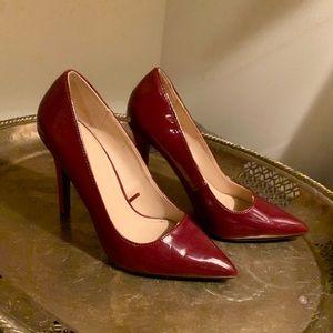 NWOT Zara Trafaluc Red Heels Sz 36